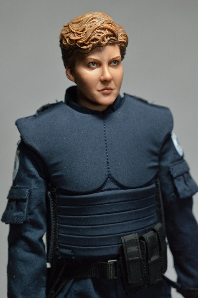 Custom One Sixth Scale Robocop Anne Lewis Figure 2