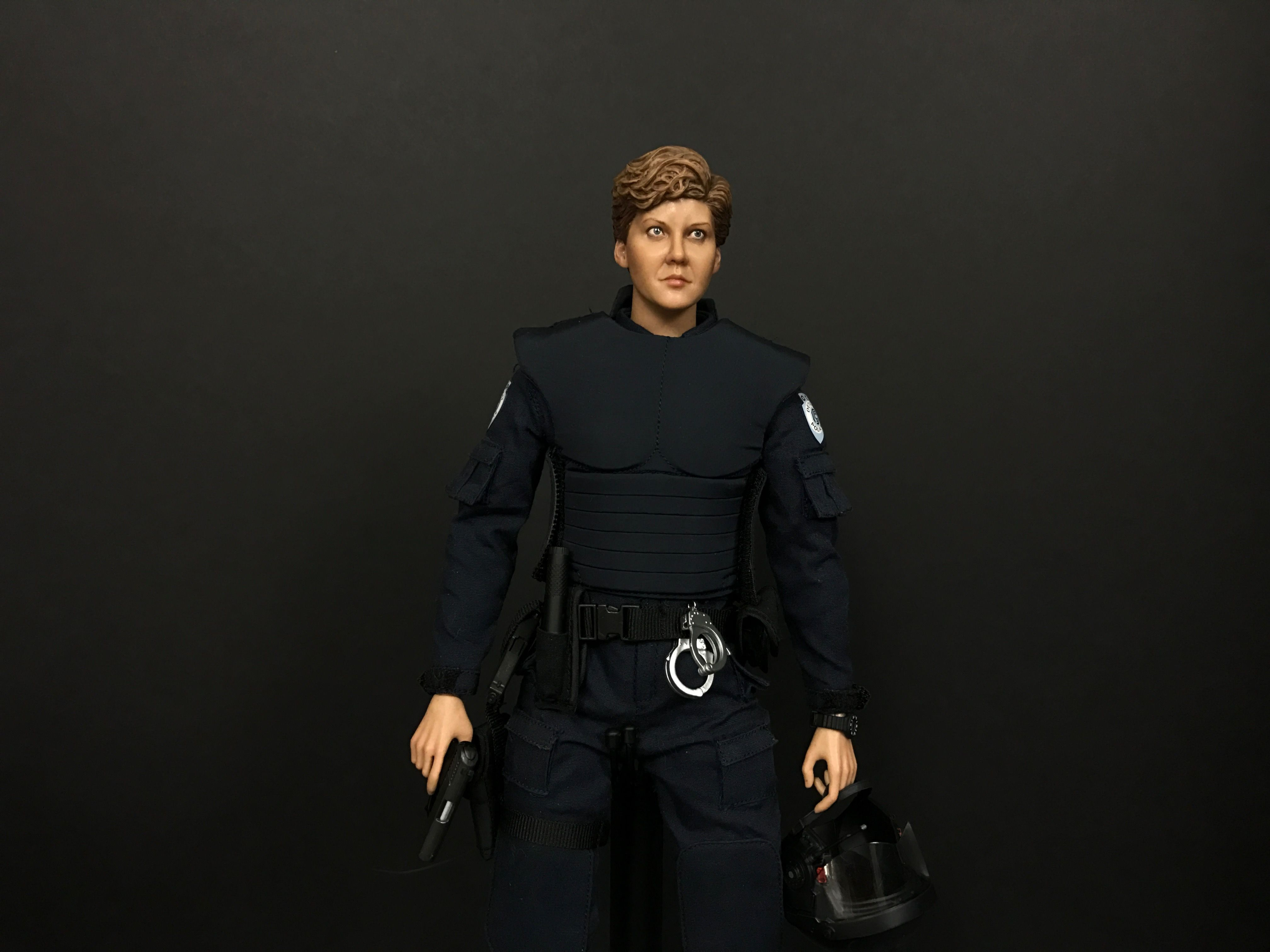 Custom One Sixth Scale Robocop Anne Lewis Figure 8
