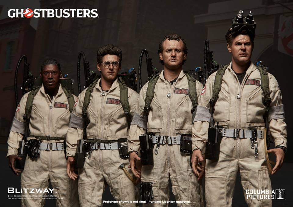 Check Out Blitzway's Awesome Ghostbuster Figures!