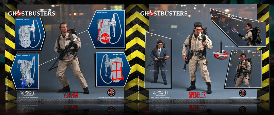 Soldier Story Toys Ghostbuster Figures