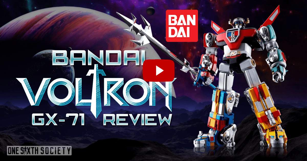 Soul of Chogokin Voltron GX-71 Review