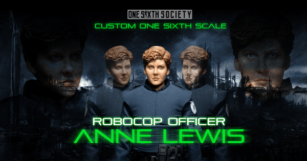 Custom RoboCop Anne Lewis Figure