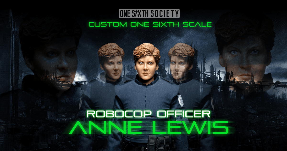 Custom RoboCop Anne Lewis Figure
