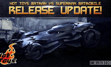 Hot Toys Batman vs Superman Batmobile – Release Update