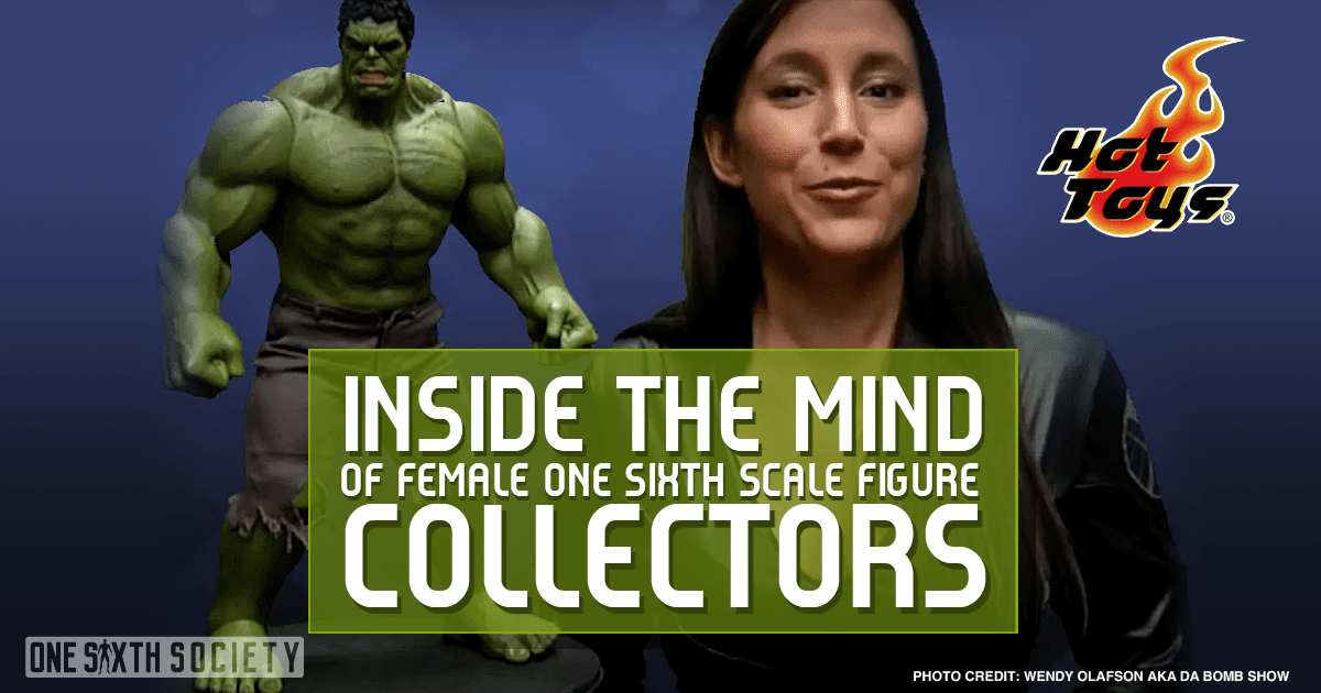 Women Who Collect One Sixth Scale Action Figures