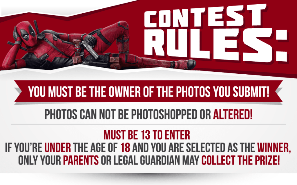 Here is You chance to win big! Were giving away a Hot Toys Deadpool Action Figure!
