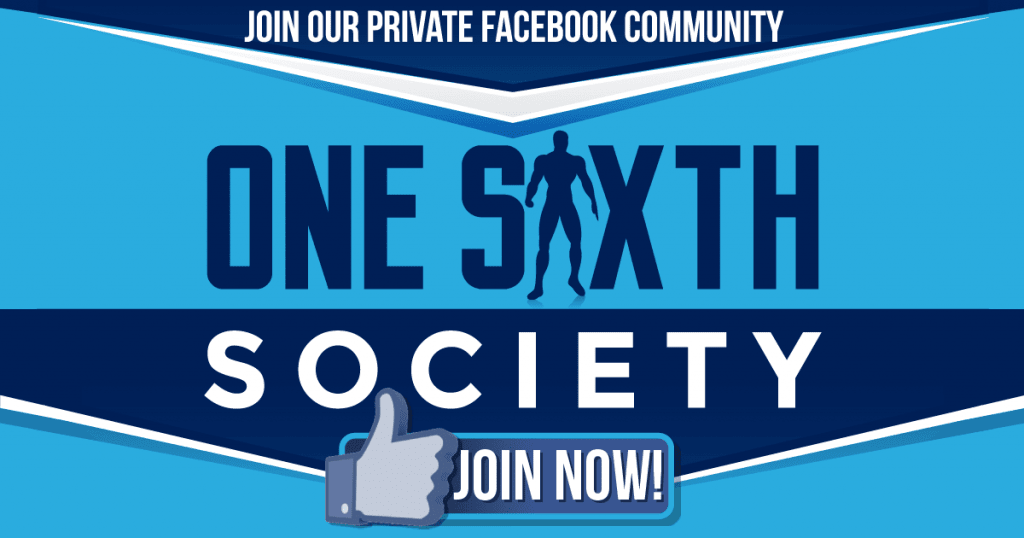 Join One Sixth Society's Facebook Group!