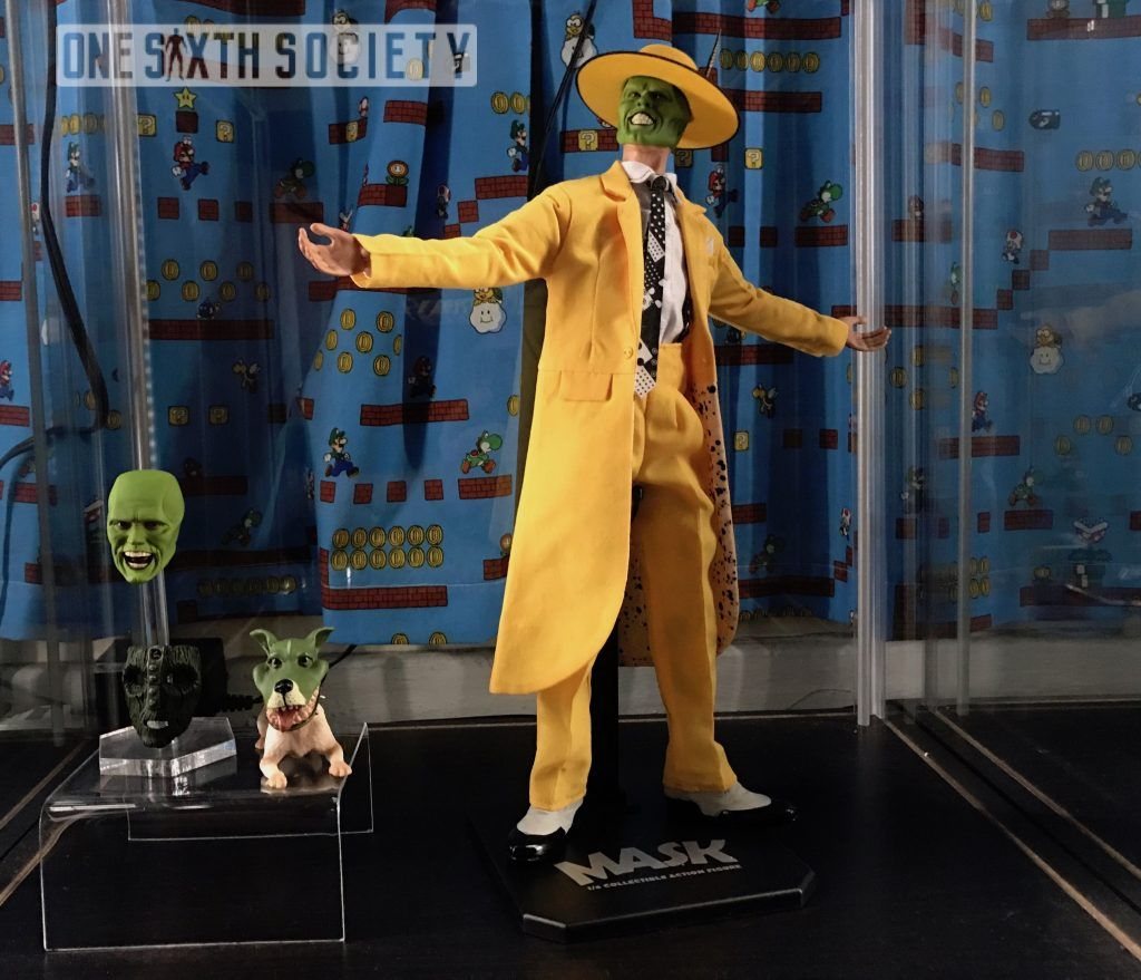 The Asmus Toys The Mask 2.0 Figure comes with a lot of accessories!