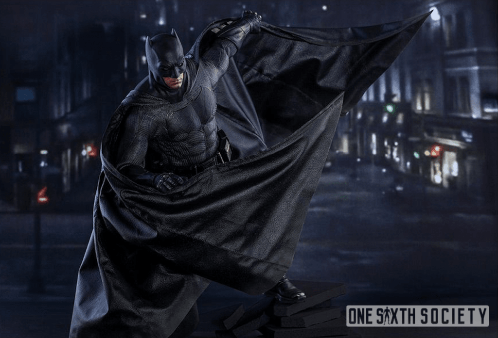 Looks like Hot Toys released a new Suicide Squad Batman Figure with a wired cape!