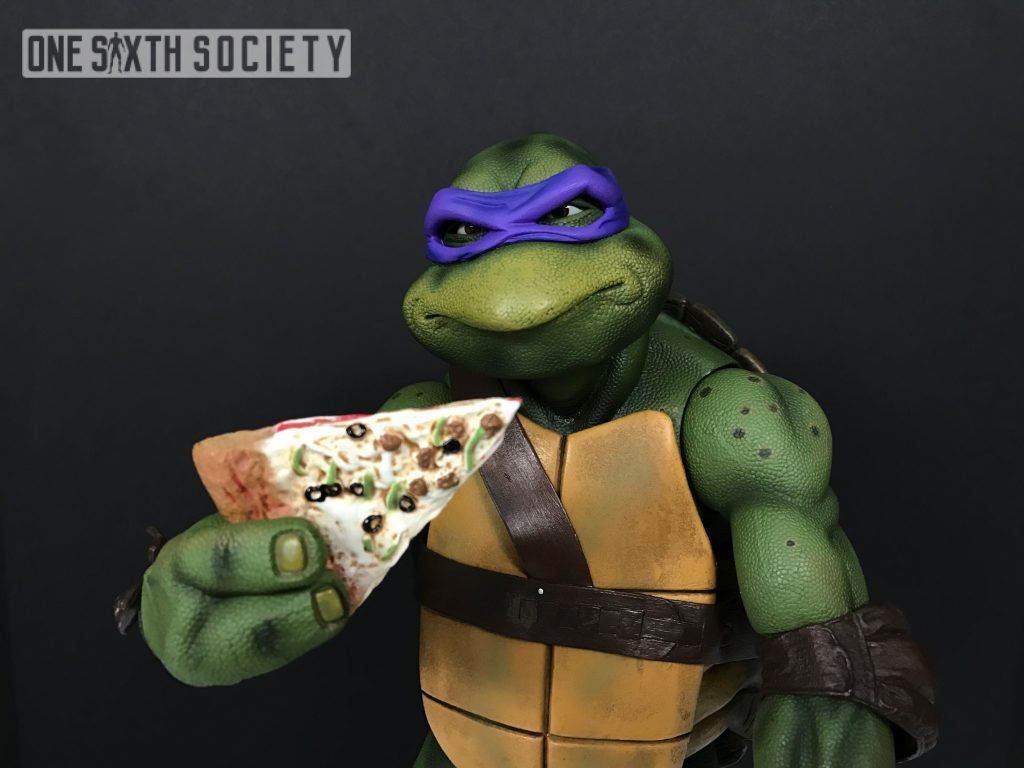 Visit our site now to see our NECA 1/4 Scale 1990 TMNT Donatello Figure Review!