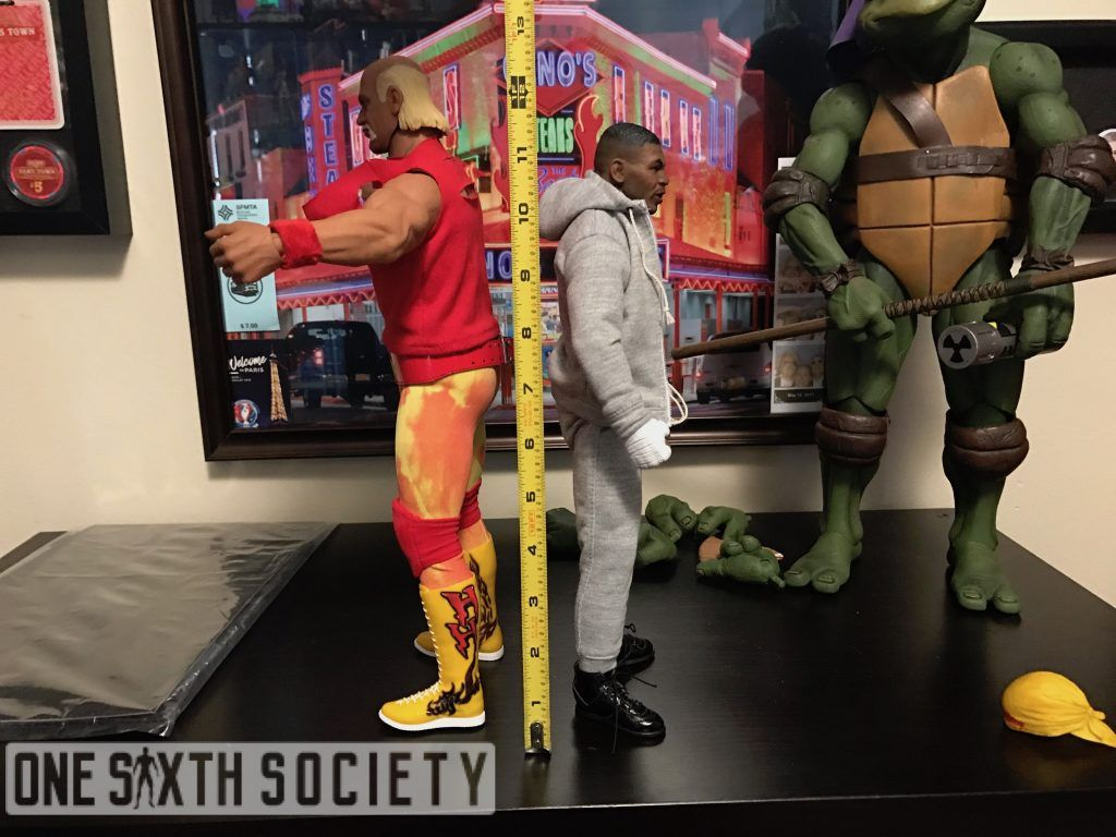 Size Comparison between Storm Collectables Hulk Hogan and Mike Tyson