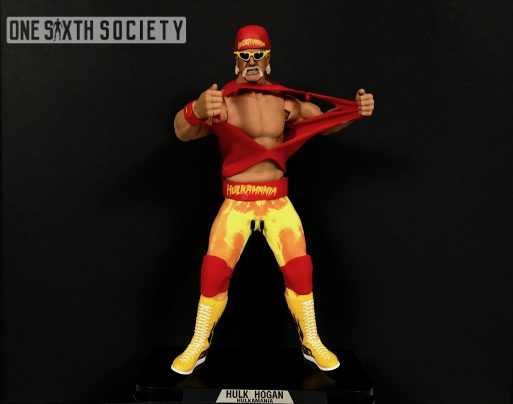 Check out Storm Collectables Hulk Hogan Ripping his shirt right off!