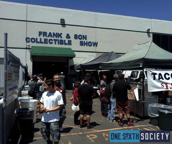 Frank And Sons Collectible Show has Tons of Vendors that Sell Hot Toys Figures!
