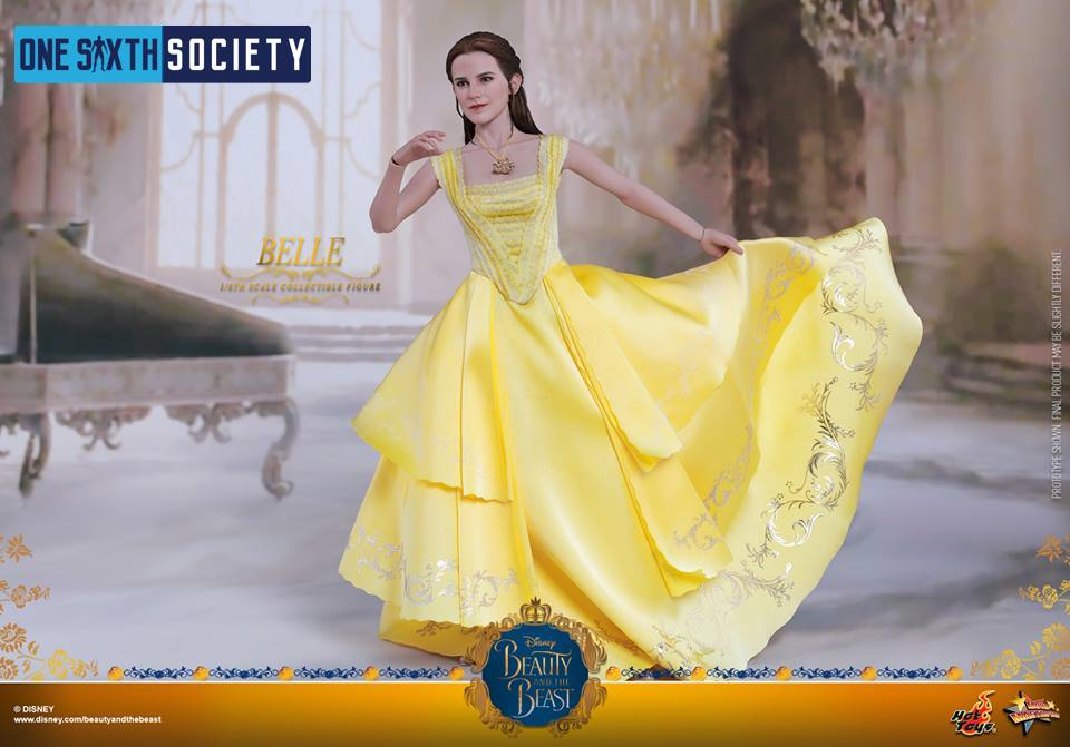 The Hot Toys Beauty and The Beast Belle Figure Dress is Stunning!