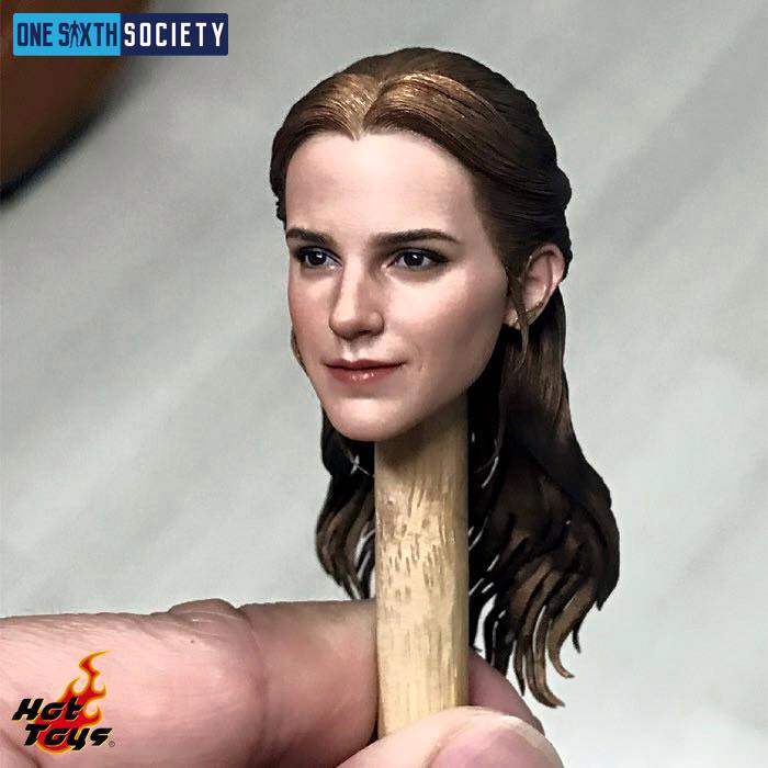 Gorgeous Hot Toys Beauty and The Beast Belle Figure Head Sculpt!