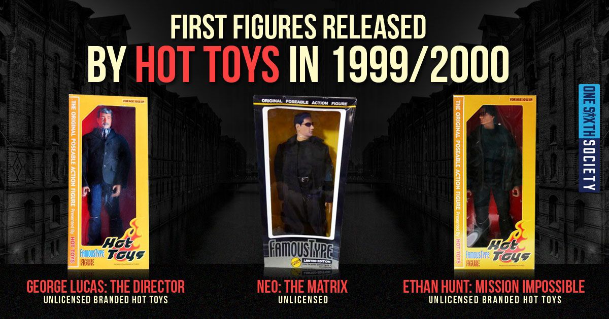 Hot Toys Founder Howard Chan First Figures Ever Released and they were called Famous Type