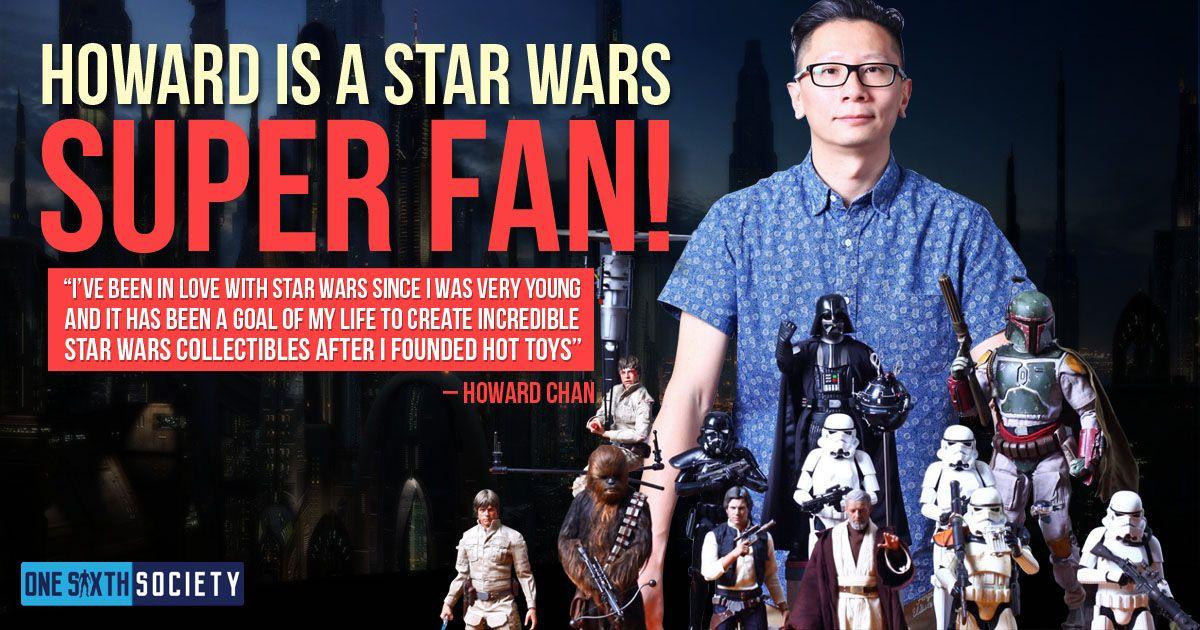 Hot Toys Founder Howard Chan Is A Massive Star Wars Fan