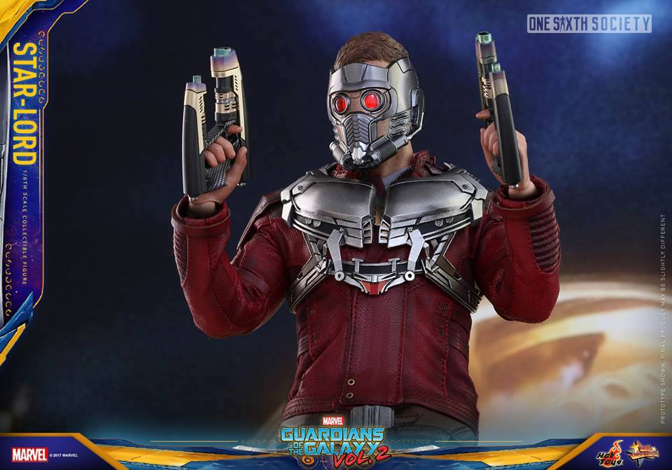 Star Lord has a New Helmet and its Awesome!