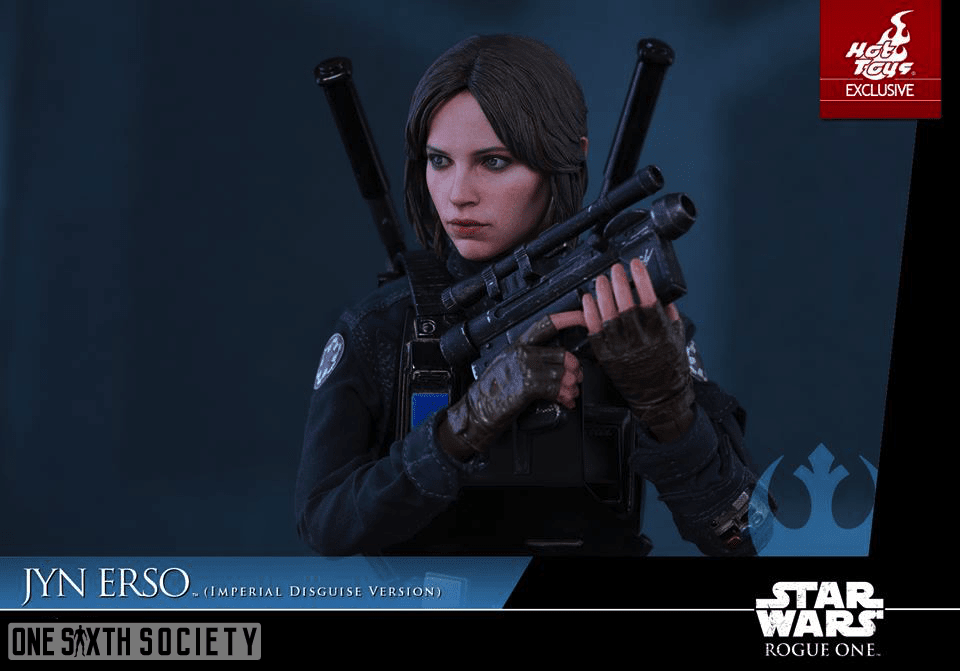 Hot Toys is excellent at creating Movie Guns, needless to say The Jyn Erso Figure is no exception!