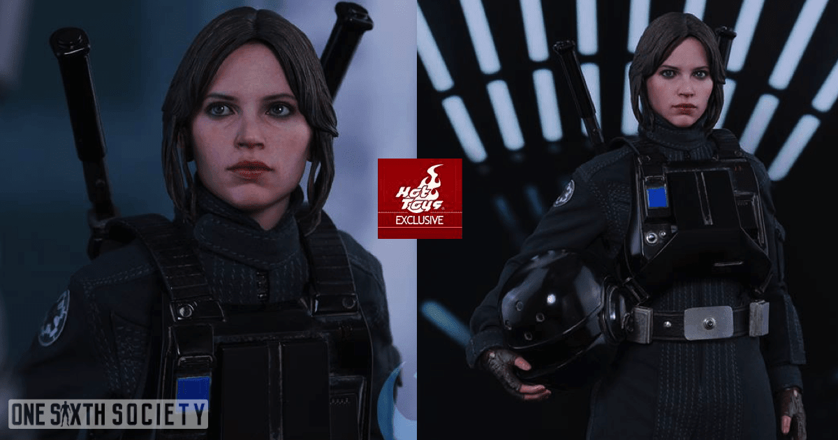 Hot Toys Jyn Erso Imperial Disguise Figure