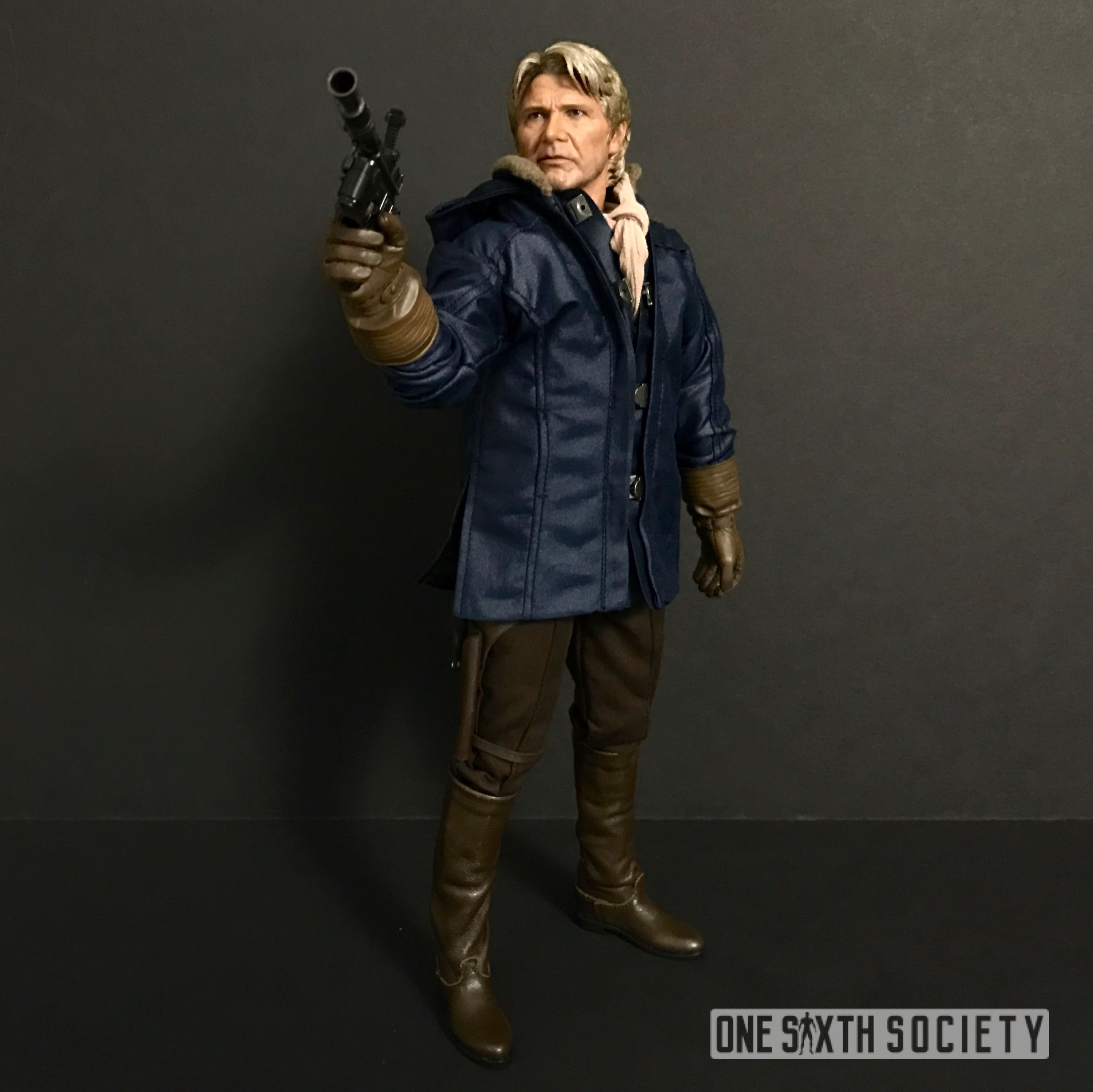 Check out all the Cool accessories The new Hot Toys Force Awakens Han Solo comes with, including a Winter Coat!