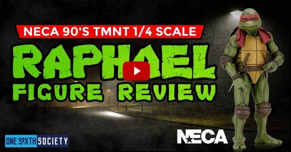 NECA 1/4 Scale 1990 TMNT Raphael Review