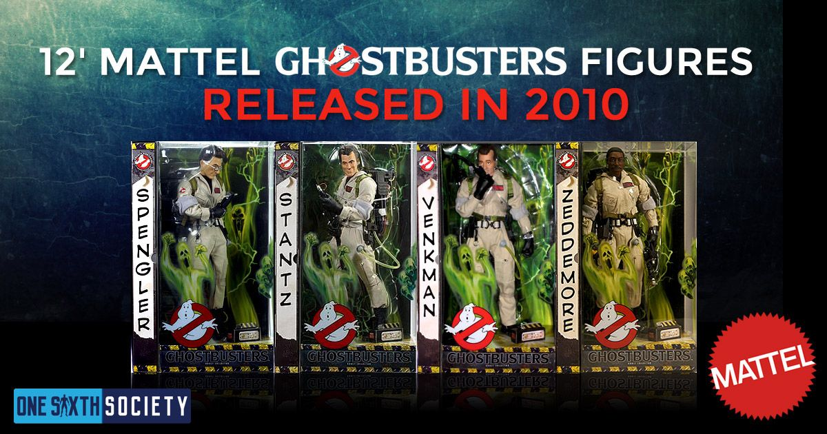 The 12 Inch Mattel Ghostbusters Figures Were Awesome for their Time!