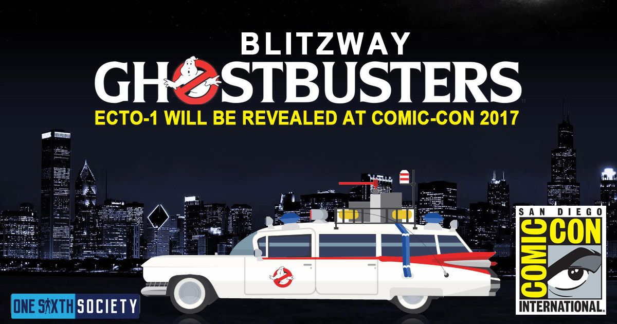 The Blitzway Ghostbusters Ecto-1 is Coming to Comic-Con 2017