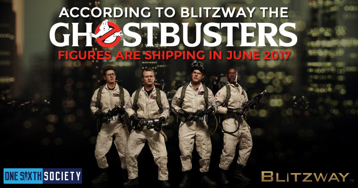 The Blitzway Ghostbusters Figures Should Be Releasing in June 2017