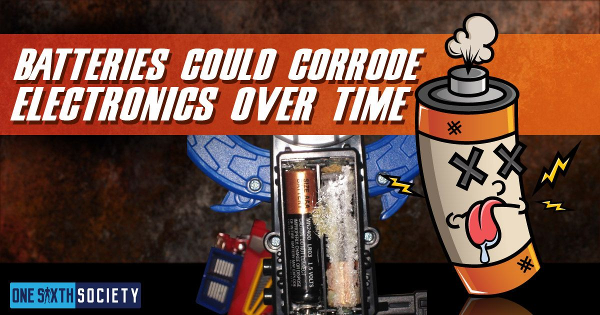 Corroded Batteries can Damage your Figures and We Help You Prevent it in this Article!
