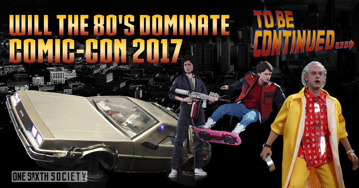 Many Fans are hoping to see the Hot Toys Back To The Future 2 Delorean at comic con 2017!