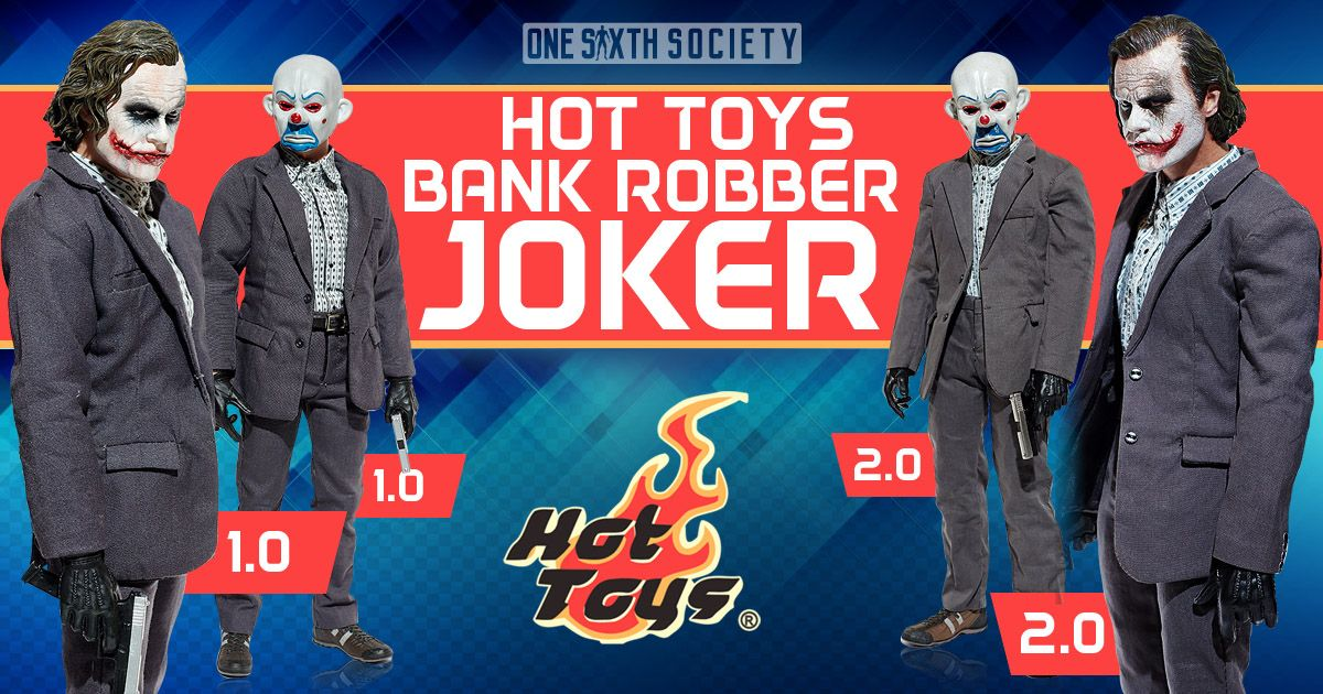 Did We Really Need two Hot Toys Bank Robber Joker Figures