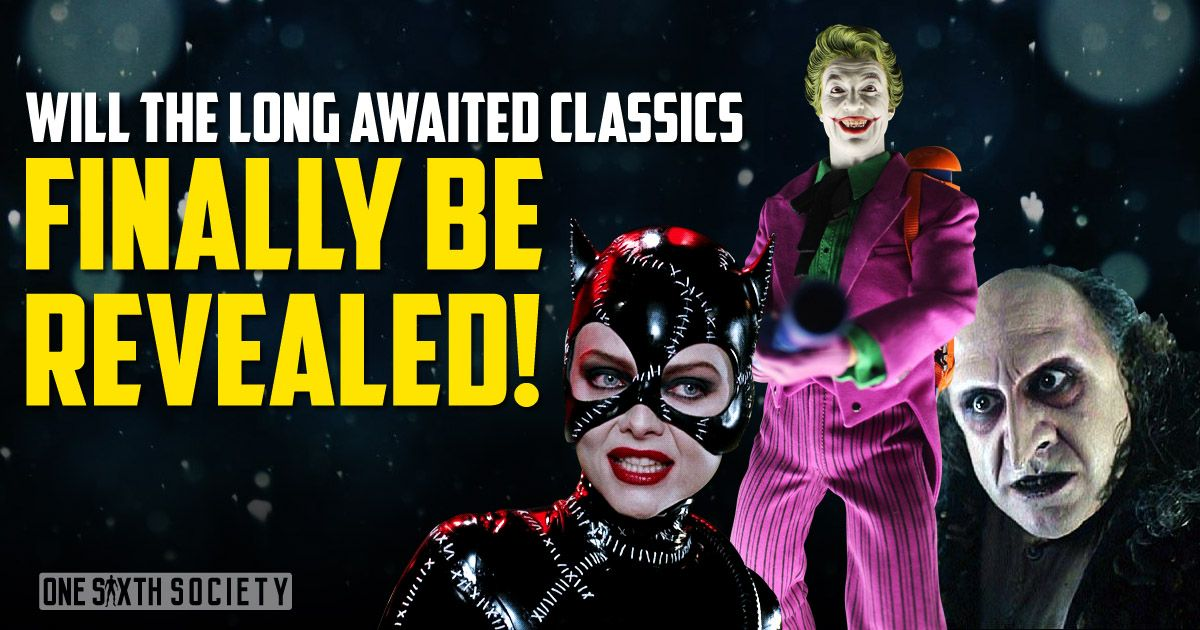 The most anticipated figure announcement at comic con 2017 will be Hot Toys Catwoman and Penguin