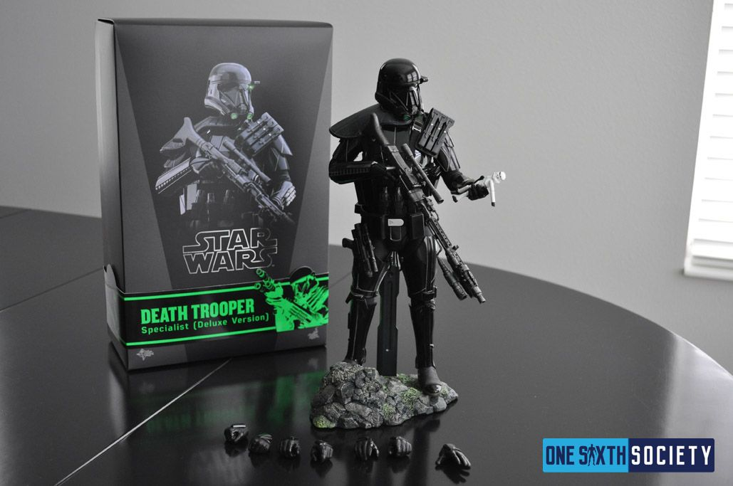 Hot Toys Death Trooper Deluxe Box Art