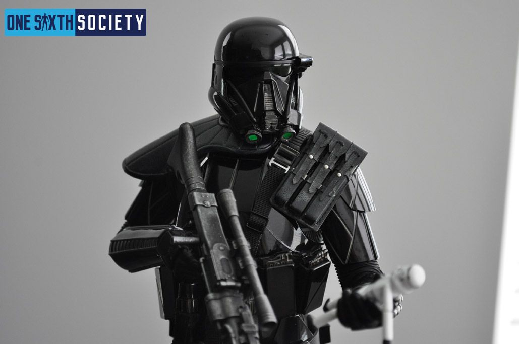 The Hot Toys Death Trooper Deluxe Figure is Gorgeous!