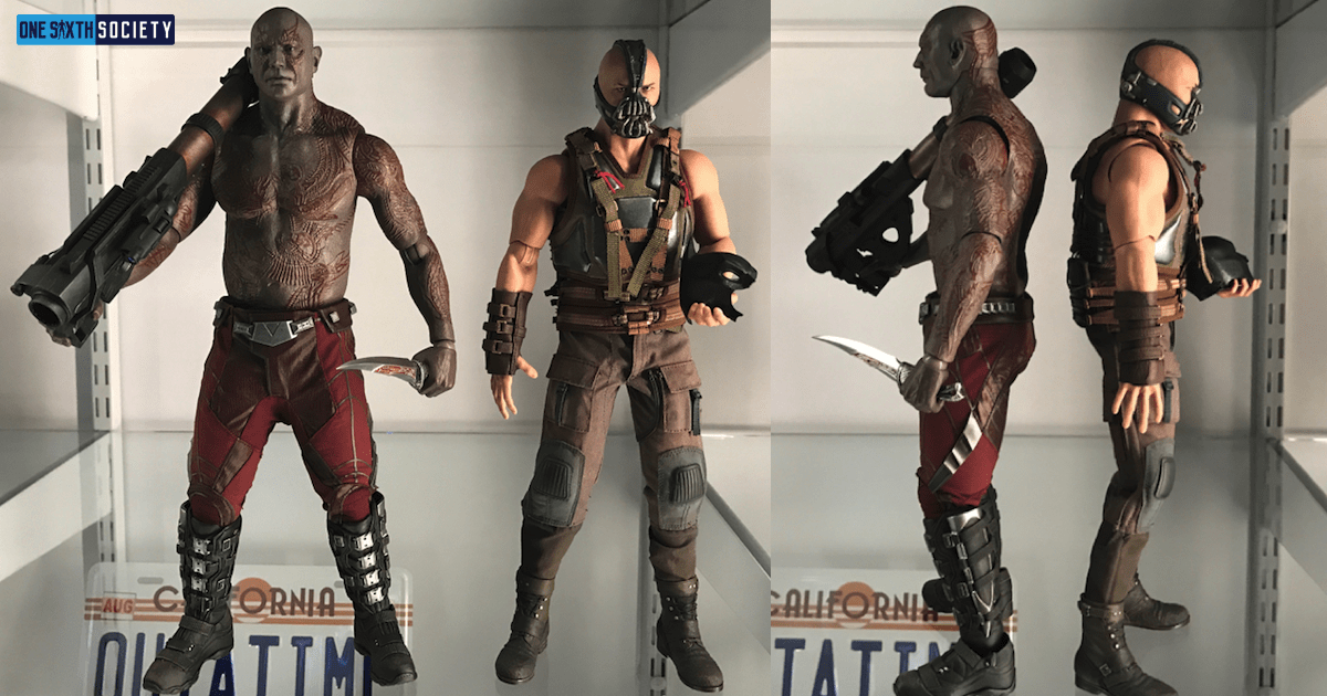 We do a Hot Toys Drax Figure Comparison To Bane