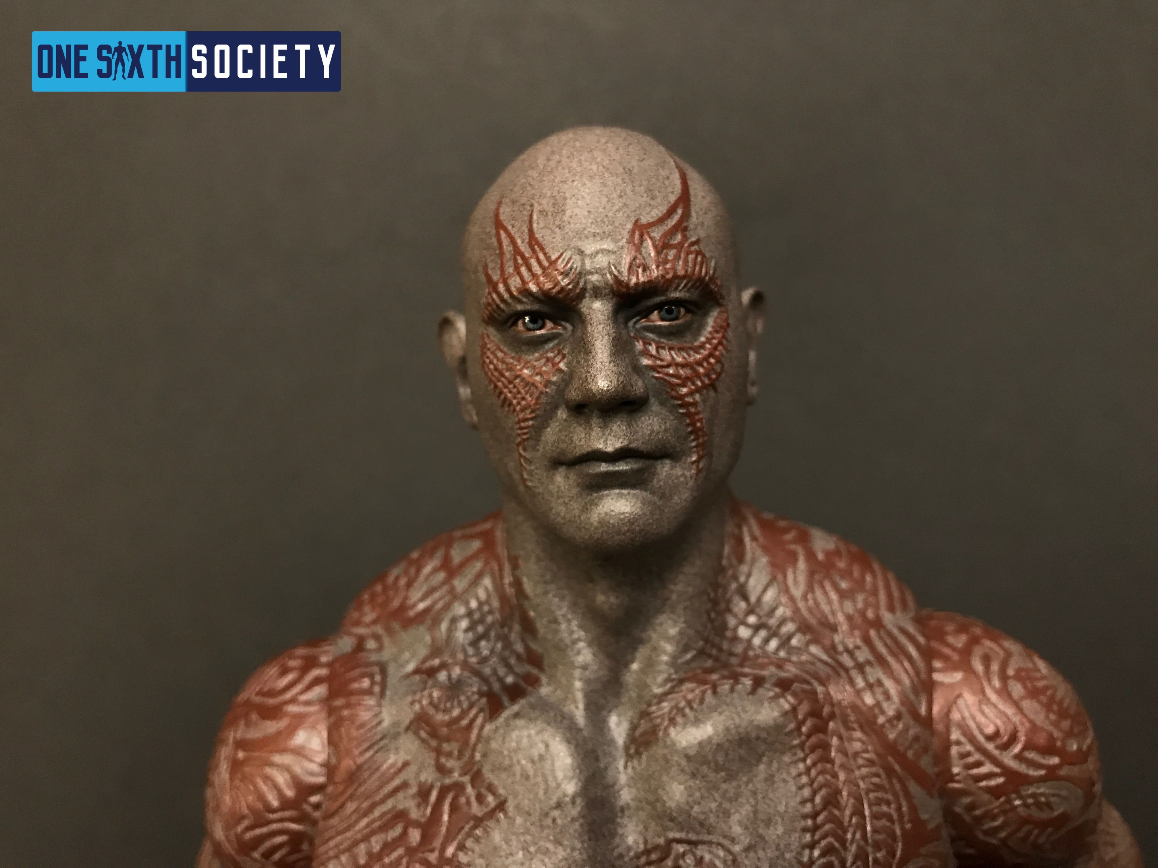Hot Toys Drax Head Sculpt is Great!