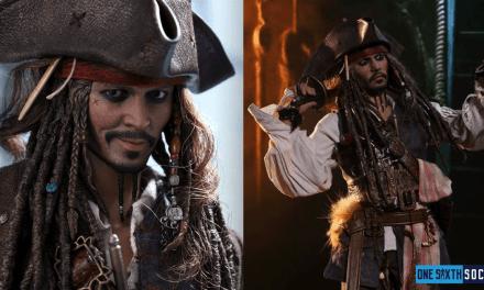 Hot Toys DX15 Captain Jack Sparrow Figure