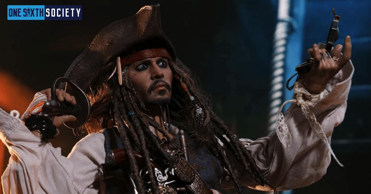 The Hot Toys DX15 Captain Jack Sparrow Figure Head Sculpt is Spot On!