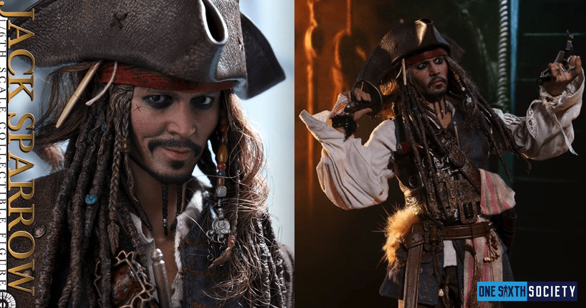 Hot Toys DX15 Captain Jack Sparrow Figure