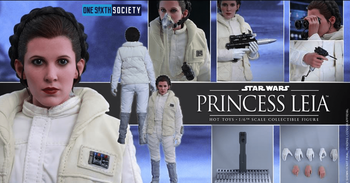 The Hot Toys Empire Strikes Back Princess Leia Accessories Are Awesome!