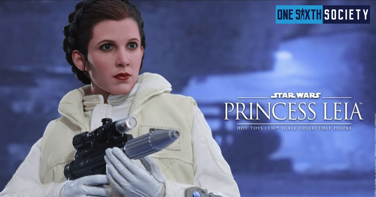 The Hot Toys Empire Strikes Back Princess Leia Blaster Pistol is Amazing!