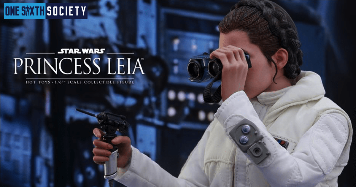 The Hot Toys Empire Strikes Back Princess Leia Figure is a Nice Tribute to Carrie Fisher!