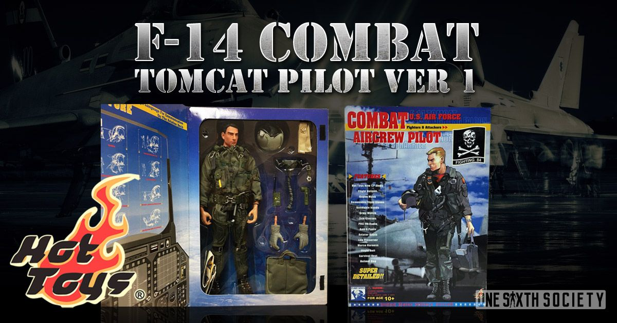 Almost Impossible to Find, The F-14 Combat Tomcat Pilot is one of Hot Toys Rarest Figures Ever!