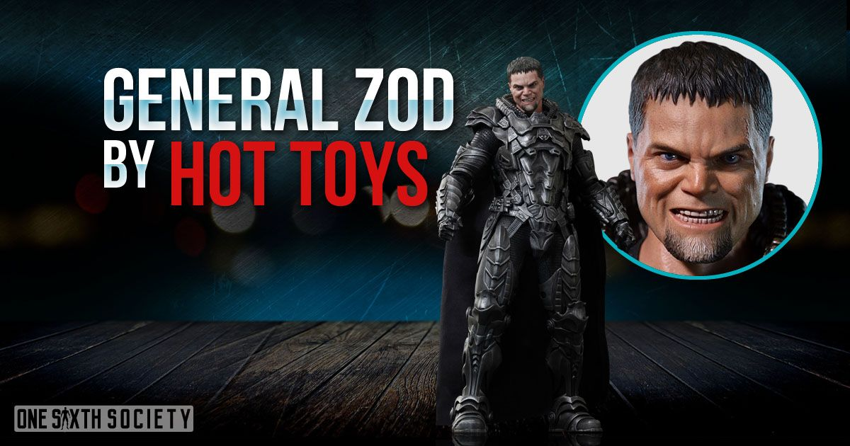 Hot Toys General Zod Figure has the most awesome armor ever!