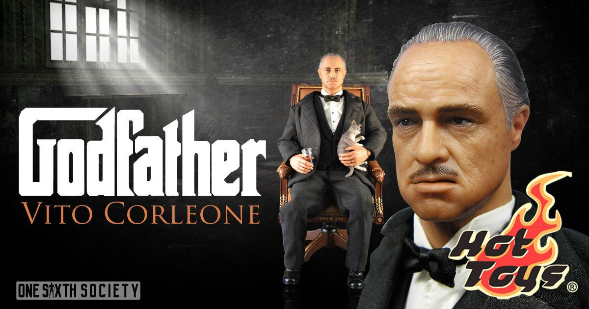 Godfather Vito Corleone has been sold out for years and is considered on of Hot Toys Rarest Figures of All time!