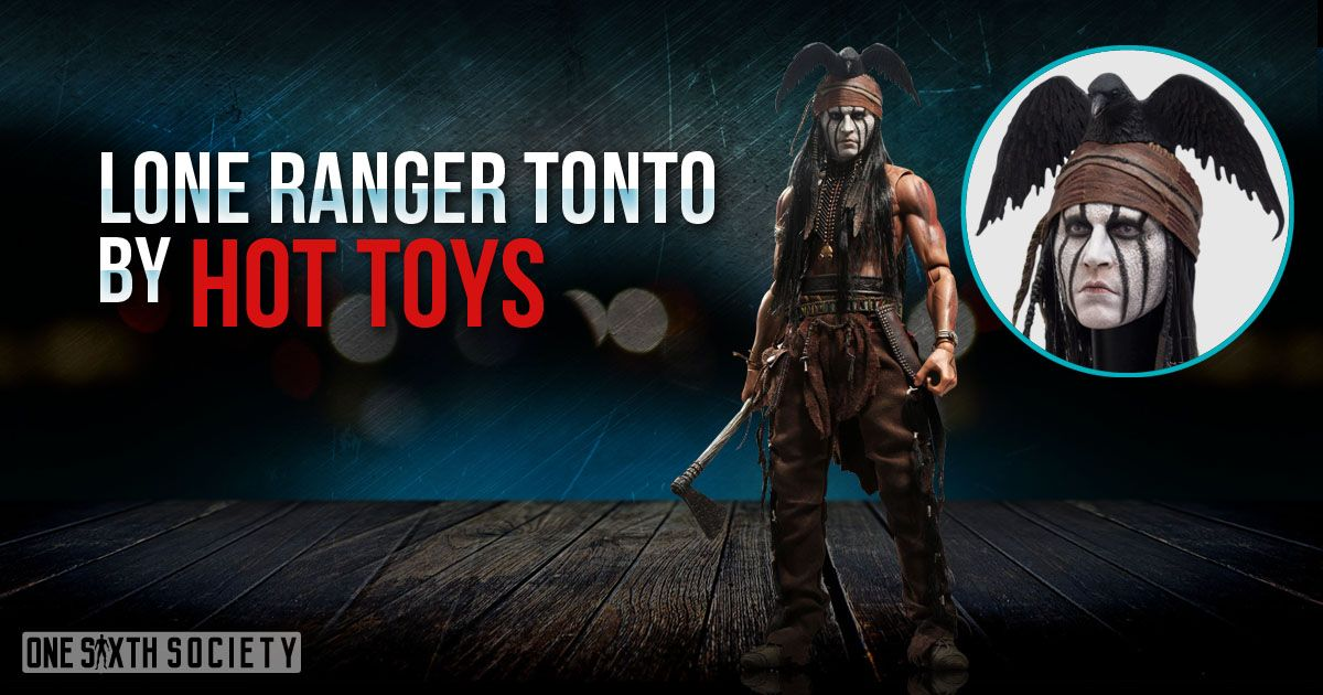 The Hot Toys Lone Ranger Tonto Figure has the best likeness to Johnny Depp!