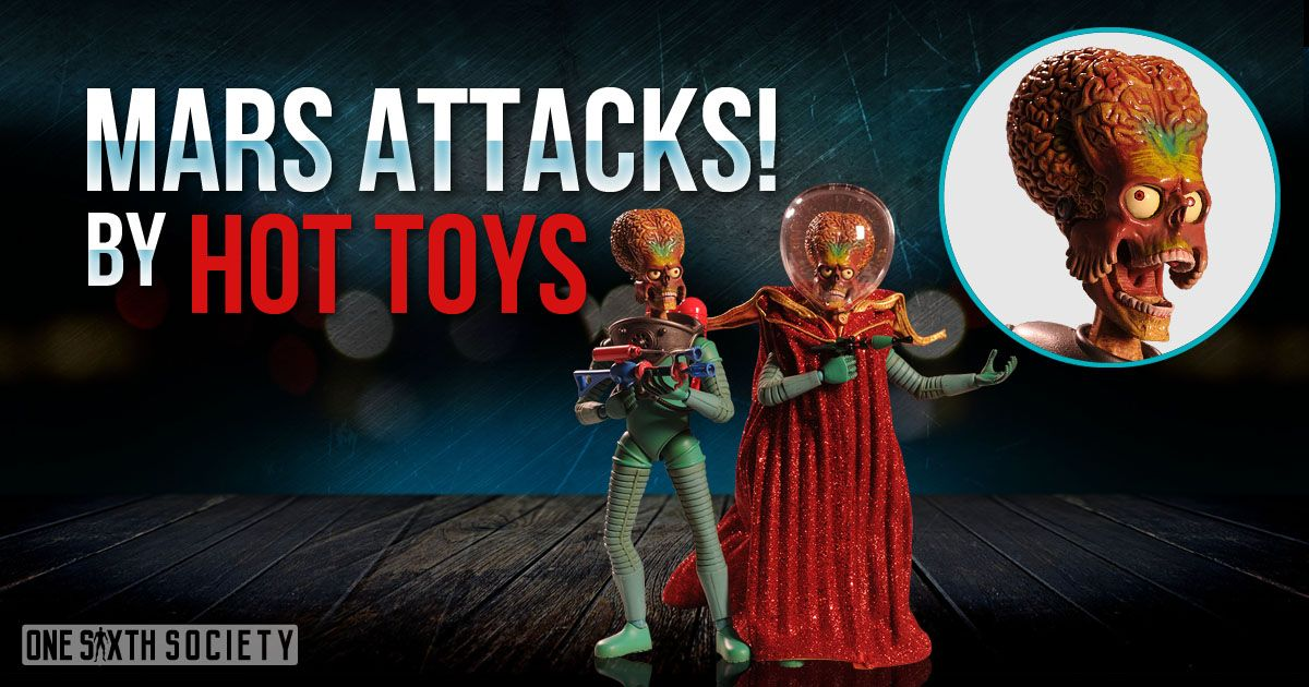Hot Toys Mars Attacks Figures are very hard to find in todays market!