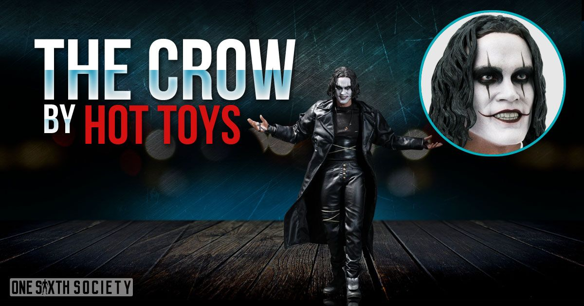 The Hot Toys The Crow Figure is one of Hot Toys Best Looking Figures!