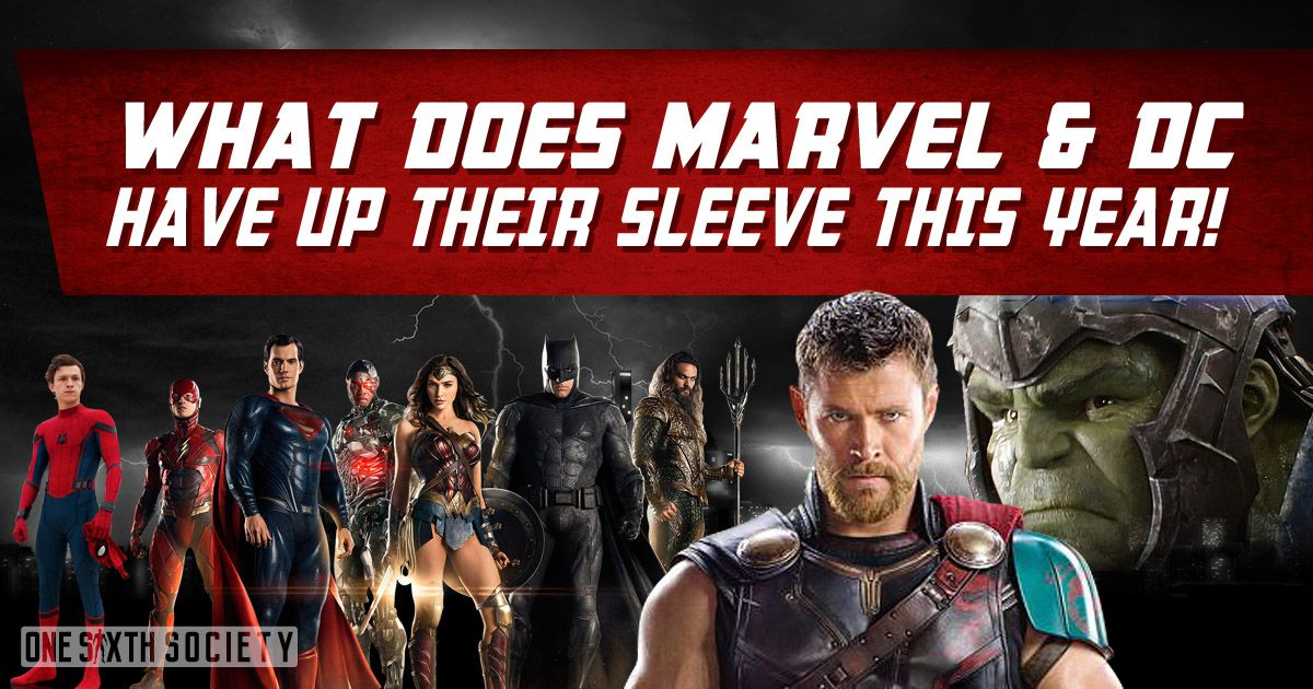 Will there be New Marvel and Dc Figures At Comic Con 2017